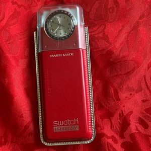Vintage Swatch Irony aluminum 1998 never opened